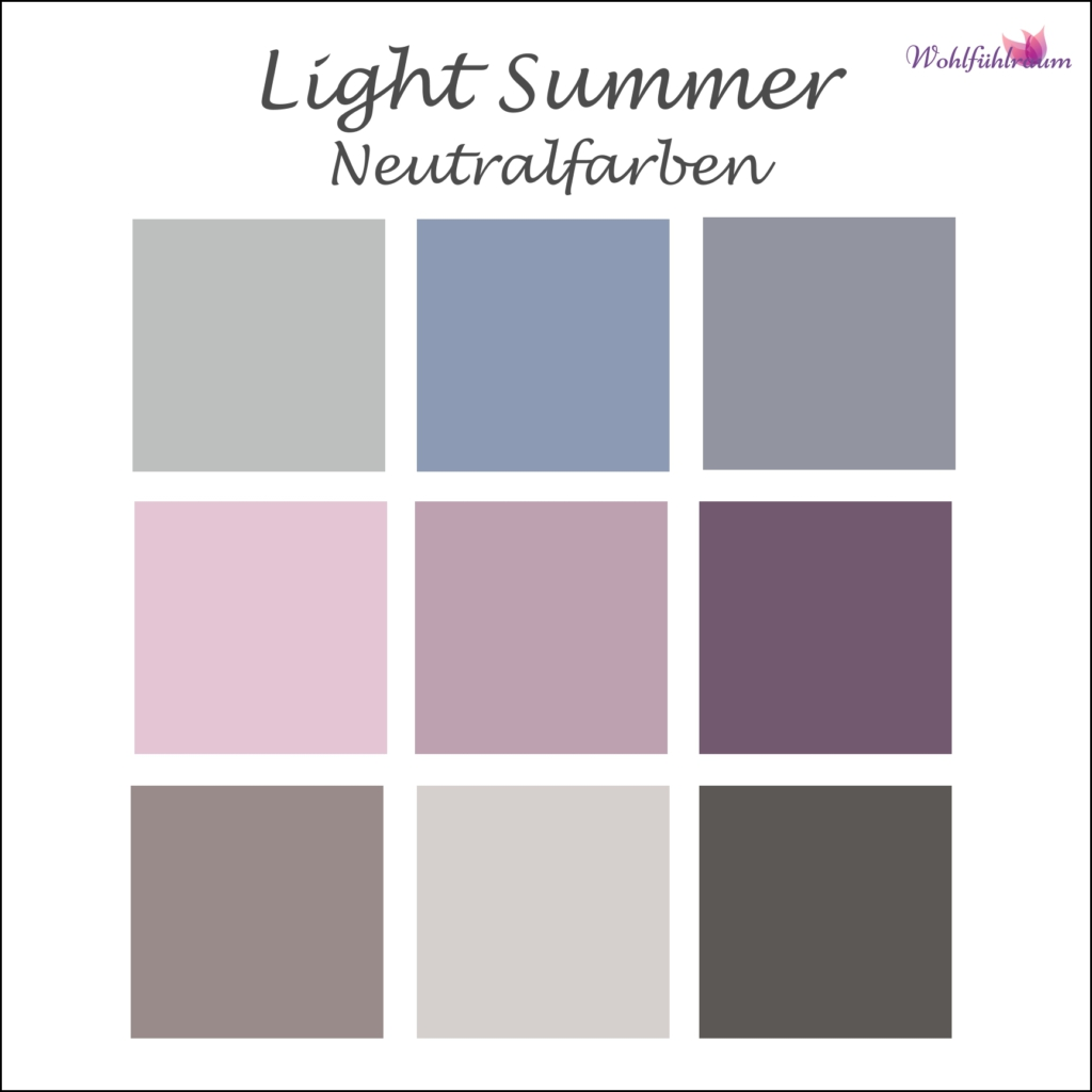 Light Summer Neutrale Farben